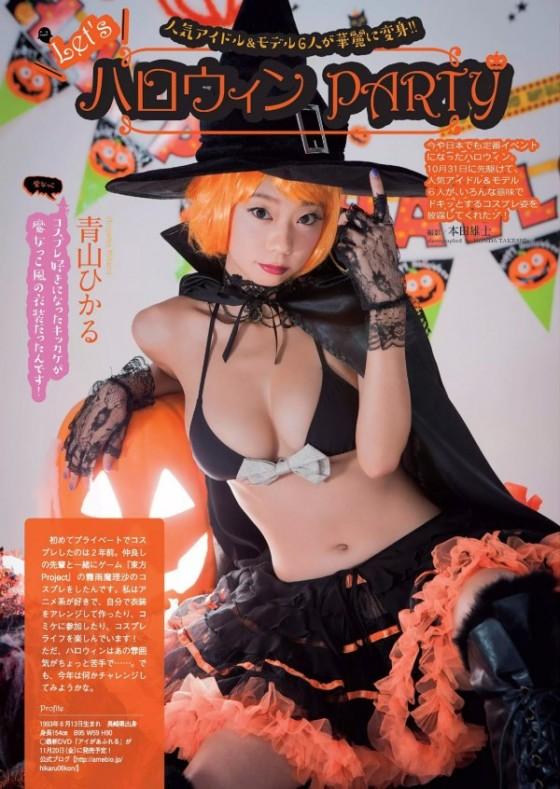 石川恋や倉持由香など人気グラドル達のハロウィンコスがエロさのレベルが違う件w