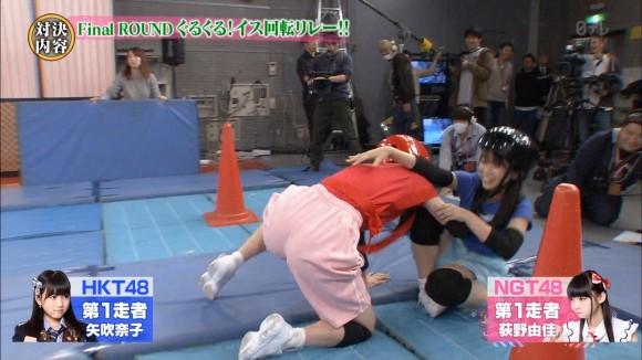 HKTやAKBアイドルのお尻が見放題のエロ番組wwwwwwww(キャプ画像あり)