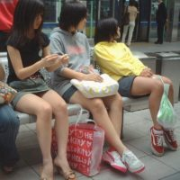 【JC盗撮画像】「俺は女子高生でなく女子中学生だけが好きなんだよ!」という変態向けJC画像